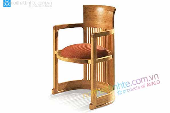 Mau ghe don Barrel Chair cua Frank Lloyd Wright