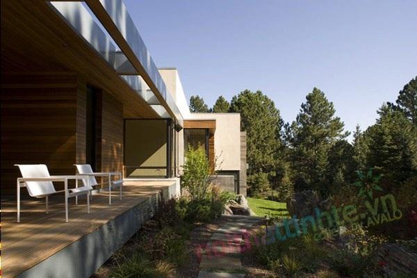 Mẫu nhà biệt thự đẹp – Biệt thự Residence Massive ở Colorado