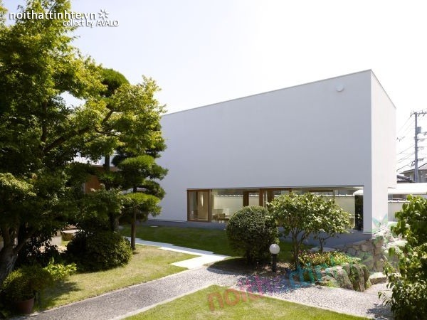 Mẫu nhà cấp 4 đẹp độc đáo ở Kagawa, Nhật Bản