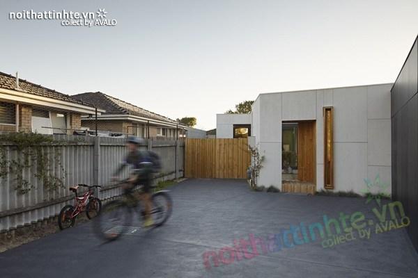 Mẫu nhà đẹp 1 tầng sang trọng và bền vững ở Melbourne