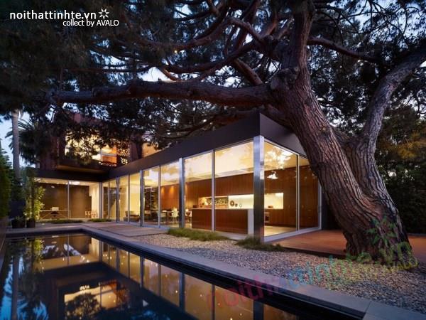 Mẫu nhà đẹp 2 tầng hiện đại Navalo Residence