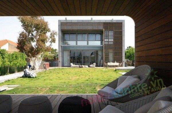 Mẫu nhà đẹp 2 tầng – House K