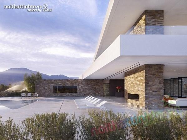 Mẫu nhà đẹp 2 tầng La Quinta - California