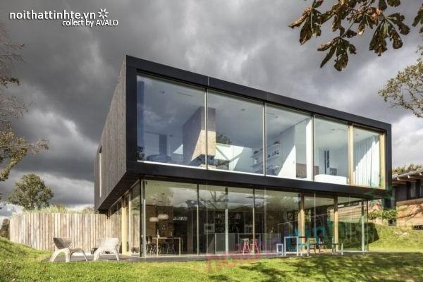 Mẫu nhà đẹp 2 tầng V-Villa đầy hiện đại