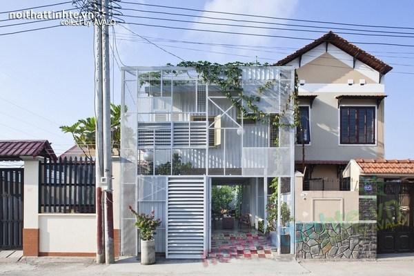 Mẫu nhà đẹp với thiết kế tinh tế ở Thuận An – Việt Nam