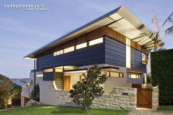 Mẫu nhà đẹp 2 tầng hiện đại ở Sydney - Australia