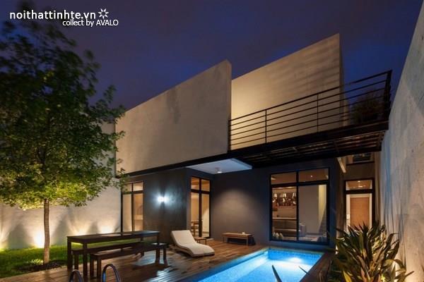 Nhà đẹp 2 tầng sang trọng và hiện đại ở Sài Gòn