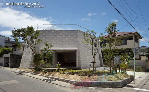 Ngôi nhà Shirasu – Thân thiện với môi trường