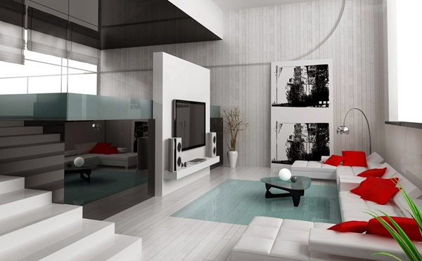 Ngôi nhà xinh đẹp và quyến rũ với màu nhấn ấn tượng