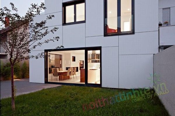 Nhà đẹp 2 tầng phong cách hiện đại
