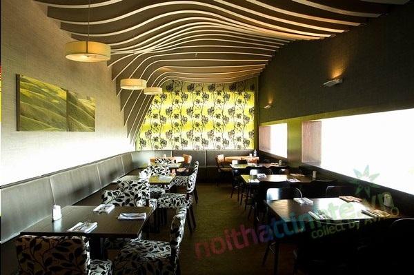 Nhà hàng đẹp Rosso Yishay
