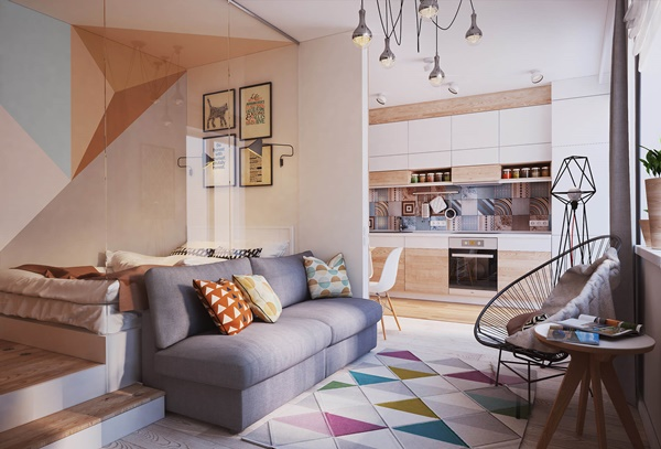 Các ý tưởng thiết kế thông minh cho nhà nhỏ đẹp và rộng rãi