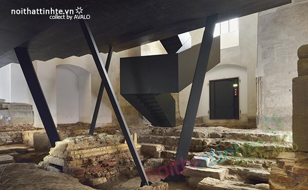 Nội thất khu di tích trưng bày & hội nghị Ptuj