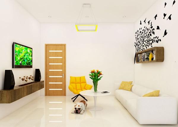 Nội thất nhà phố đẹp hơn nhờ thiết kế hợp lý