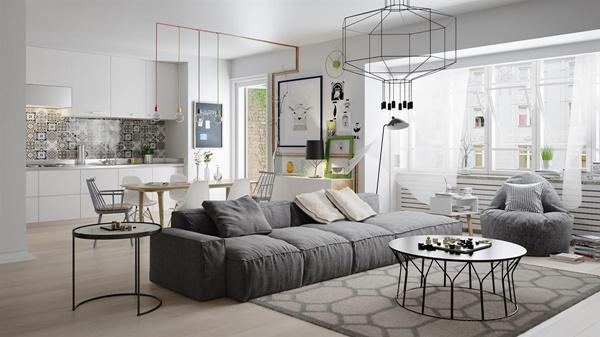 Xu hướng thiết kế nội thất phong cách Scandinavian
