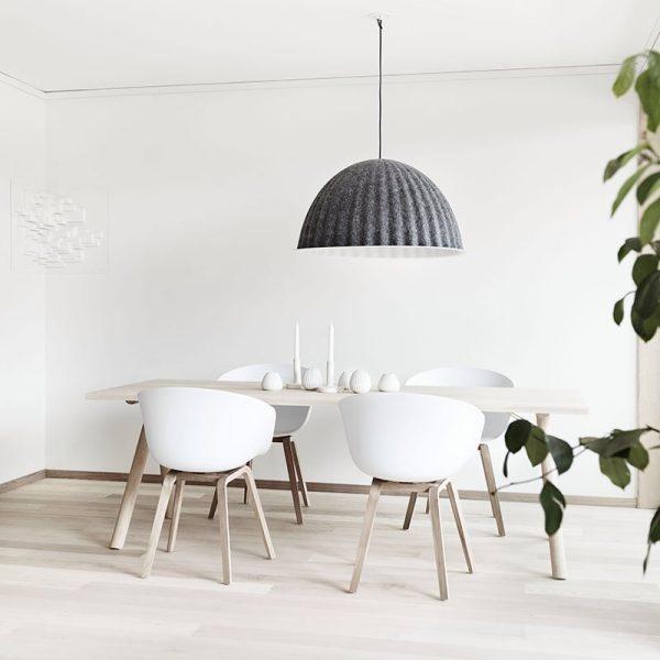 Phòng ăn phong cách Bắc Âu lý tưởng cho nhà chung cư