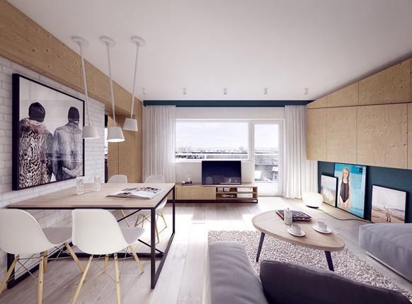 Phong cách Bắc Âu - lựa chọn lý tưởng cho căn hộ nhỏ