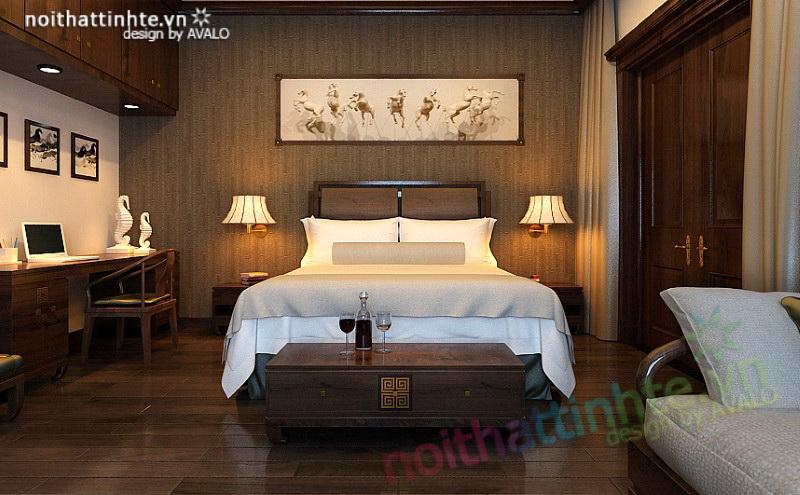 Phòng ngủ Á Đông Vincom Village Sài Đồng