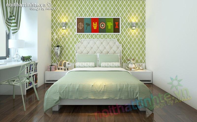 Phòng ngủ con trai lứa tuổi vị thành niên