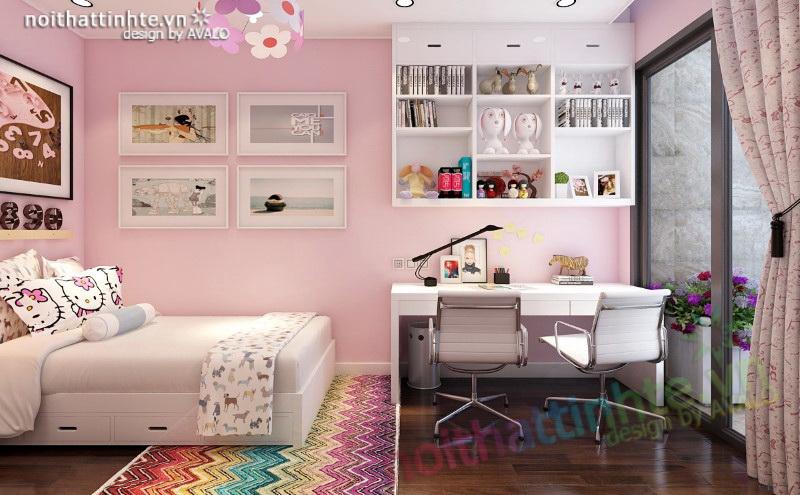 Phòng ngủ trẻ em vô cùng đáng yêu