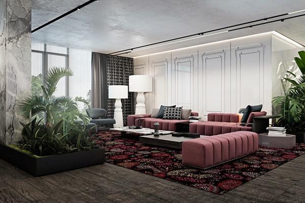 Tham khảo cách phối màu cho nội thất chung cư hiện đại