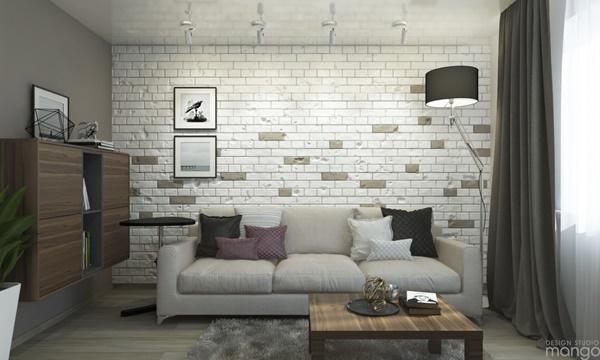 Màu sắc tham khảo cho thiết kế nội thất phòng khách trẻ trung