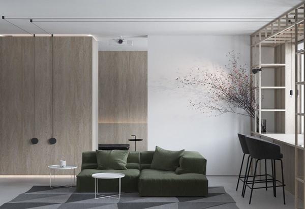 Cách phối màu trung tính tinh tế cho nhà đẹp