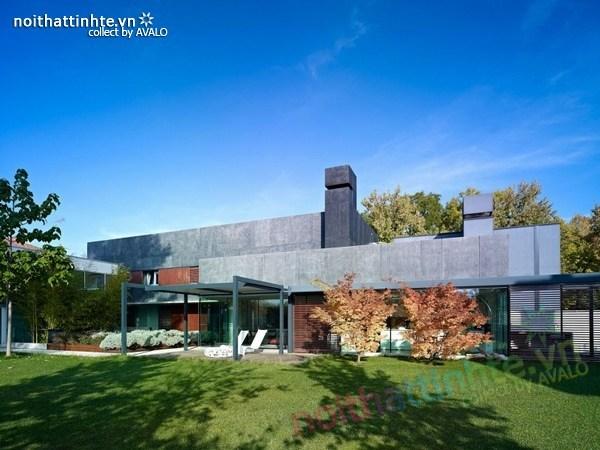 Thiết kế biệt thự đẹp DC của công ty kiến trúc Gera