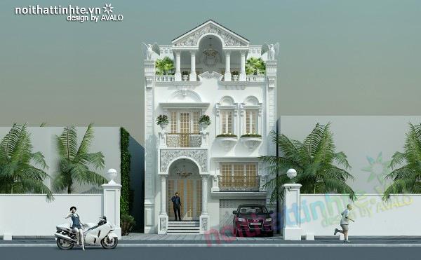 Thiết kế biệt thự đẹp ở Vũng Tàu - Nhà anh Phúc