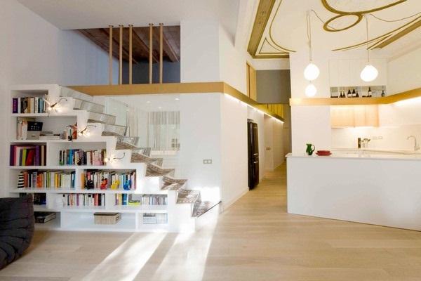 Thiết kế cải tạo nội thất chung cư với chiều cao trần lớn