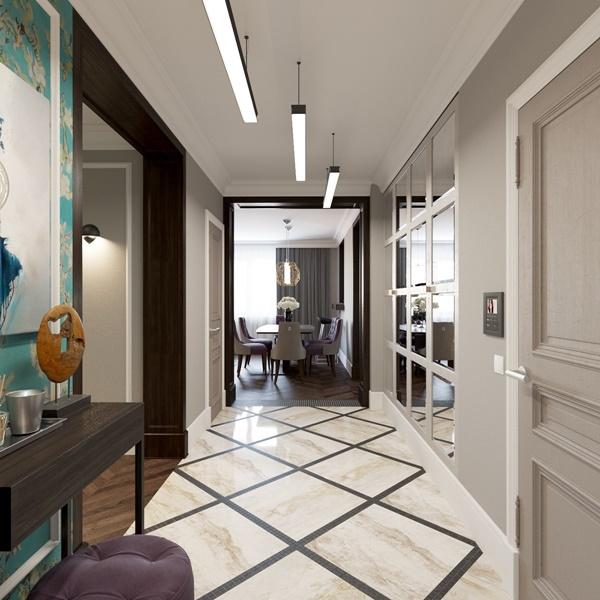 Thiết kế chung cư đẹp phong cách Art Deco