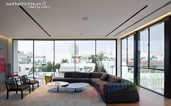 Thiết kế hiện đại - ngôi nhà Tel Aviv