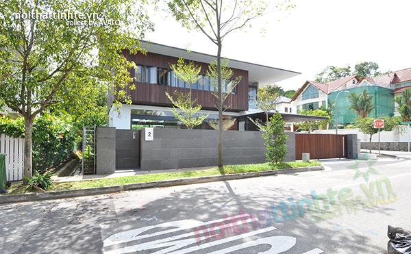 Thiết kế hiện đại nơi khí hậu nhiệt đới - Ngôi nhà Sunset Terrace