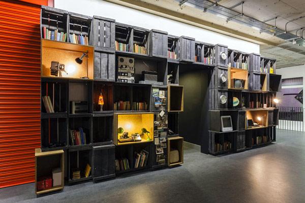 Thiết kế không gian làm việc của Google Campus
