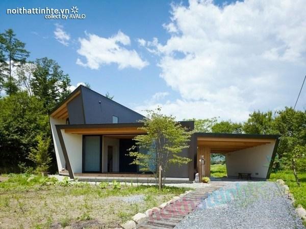 Thiết kế nhà cấp 4 đẹp Yatsugatake – Nhật Bản
