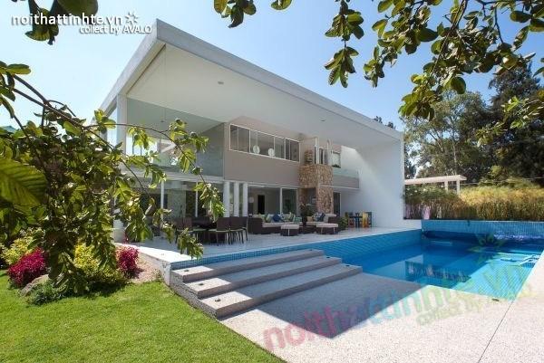 Thiết kế nhà đẹp 2 tầng Casa del Viento