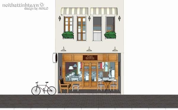 Thiết kế nhà đẹp 2 tầng – Nhà lô anh Tú Bass