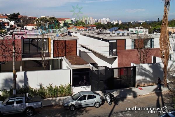 Thiết kế nhà đẹp ở Benaca City với hình khối độc đáo