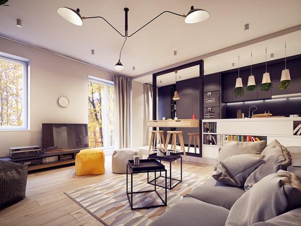 Thiết kế nhà đẹp tiện nghi và đầy phong cách