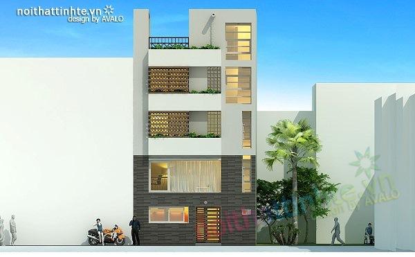 Thiết kế nhà lô diện tích nhỏ đẹp 30m2 – Tuaep's house