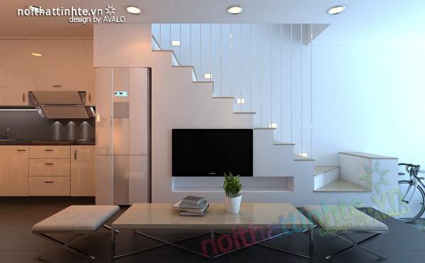 Thiết kế nhà lô diện tích nhỏ đẹp - Son Nguyen House