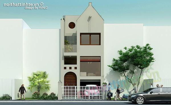 Thiết kế nhà phố đẹp Hạ Long TzungsHouse