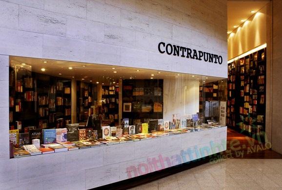 Thiết kế nhà sách Contrapunto-Chile