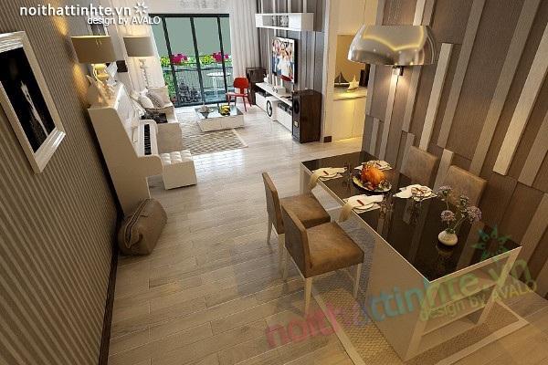 Thiết kế nội thất Avalo – Chung cư Phùng Khoang nhà A Hà