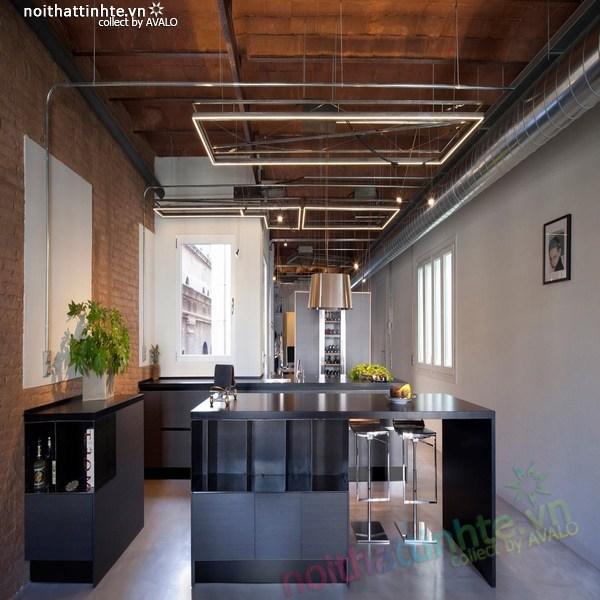 Thiết kế nội thất cải tạo chung cư cũ ở Barcelona