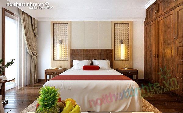 Thiết kế nội thất căn hộ chung cư cao cấp  Việt Hưng Green house