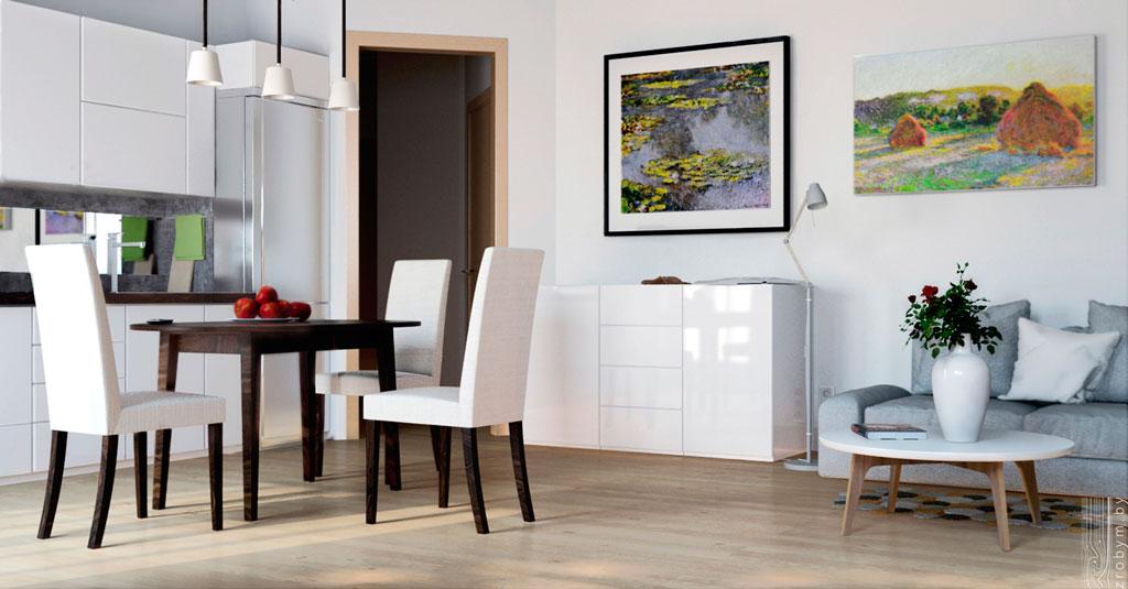Thiết kế nội thất chung cư 44m2 xinh xắn, tiện nghi