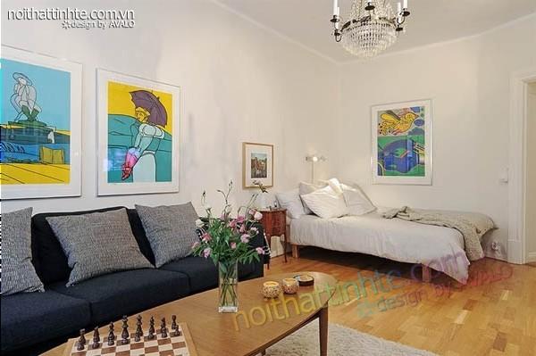 Thiết kế nội thất  chung cư Grib – Nhỏ đẹp và gọn gàng