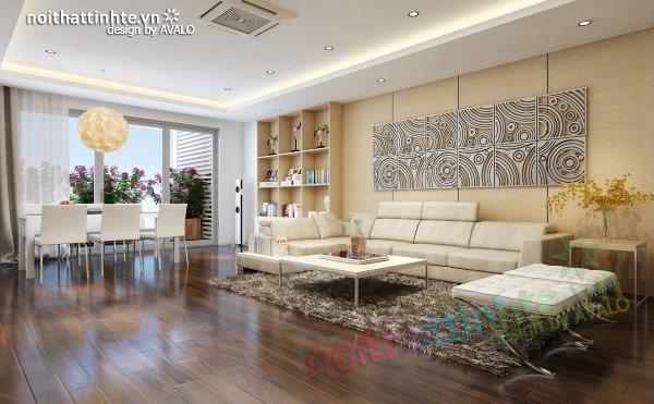 Thiết kế nội thất chung cư hiện đại sang trọng ở Hải phòng