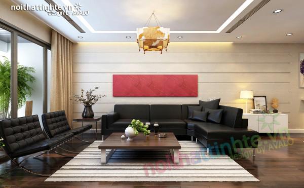 Thiết kế nội thất chung cư mandarin garden 07 – B2